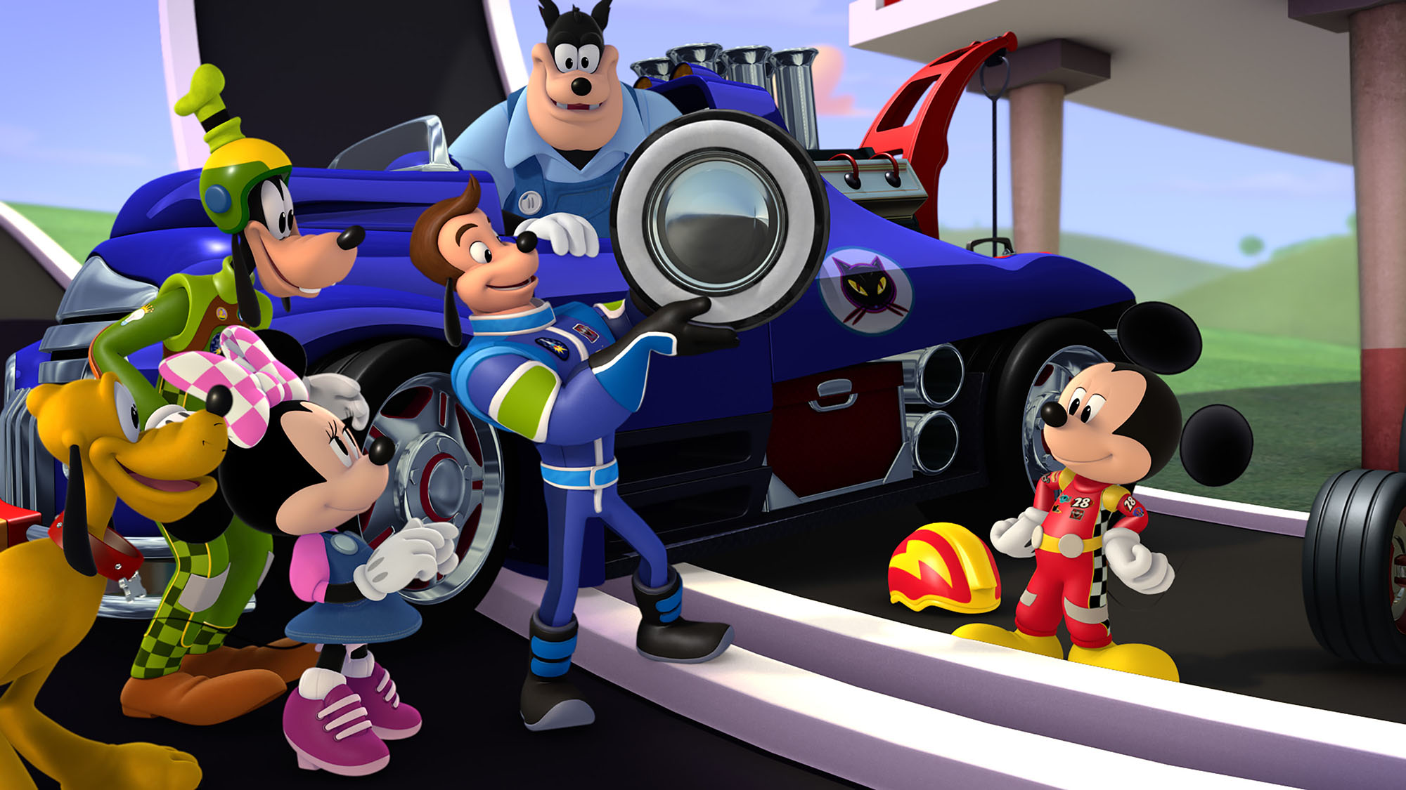 PLUTO, GOOFYM MINNIE MOUSE, JIMINY JOHNSON, PETE THE CAT, MICKEY MOUSE